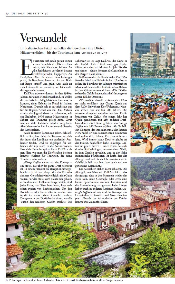 Die Zeit 23 luglio 2015